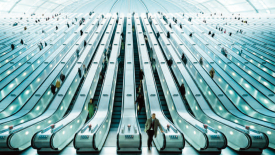 Escalators-Wallpapers